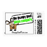 Grumpy Goat Pizza Stamps