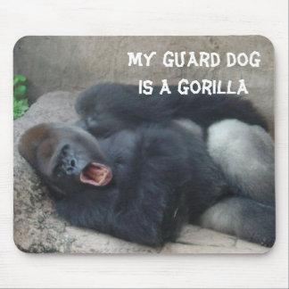 Grumpy Gorilla Mouse Pad