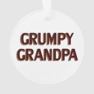 Grumpy Grandpa Ornament