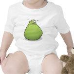 Grumpy Green Monster Funny Baby Creeper Bodysuit