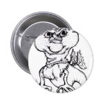 Grumpy Griffin Pinback Buttons