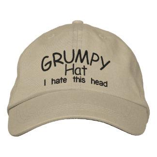 Grumpy HAT Embroidered Baseball Caps