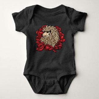 Grumpy Hedgehog Baby Suit Baby Bodysuit