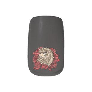 Hedgehogs Nail Art Nail Wraps Zazzle