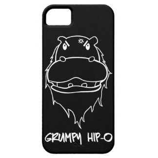 Grumpy Hip-O Case Black iPhone 5 Cover