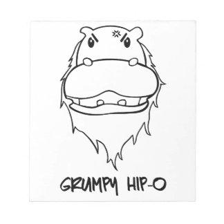 Grumpy Hip-O Memo Pads