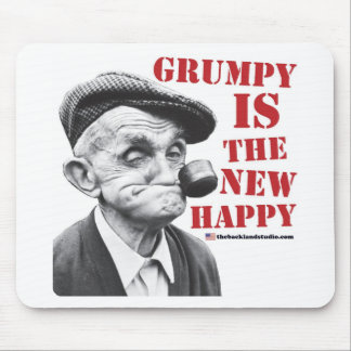 Grumpy is the new happy mouse pad
