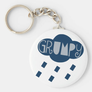 Grumpy Keychain