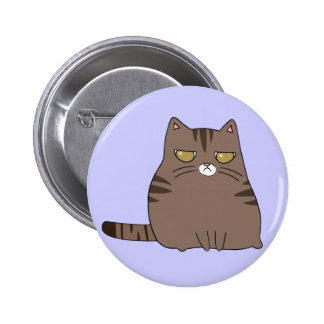 Grumpy Kitty 2 Inch Round Button