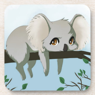 Grumpy Koala Coaster