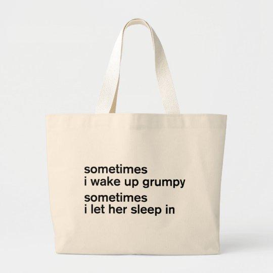 Grumpy Large Tote Bag