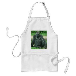 Grumpy Lowland Gorilla Adult Apron