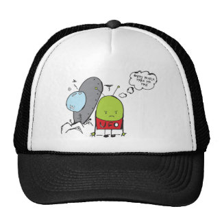 Grumpy Martian Trucker Hat