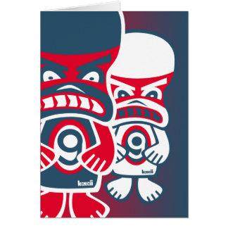 Grumpy Mascot Card