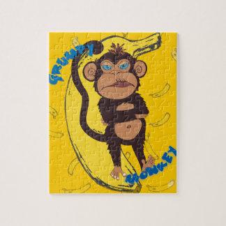 Grumpy Monkey Jigsaw Puzzle