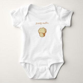 """grumpy muffin"" baby tee shirts"