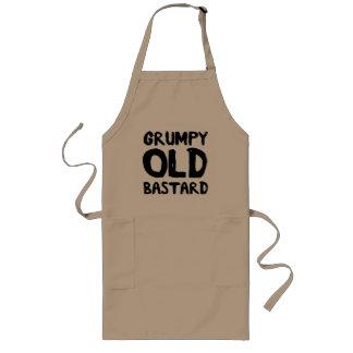 Grumpy Old Bastard Long Apron