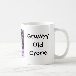 Grumpy Old Crone a Cheeky Witch Cup Mug