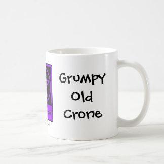 Grumpy Old Crone a Cheeky Witch Cup/Mug Coffee Mug