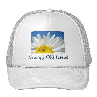 Grumpy Old Friend Truckers Hats Friends Daisy