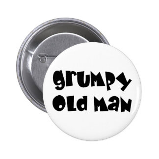 Grumpy old man buttons
