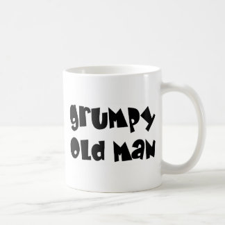 Grumpy old man coffee mug