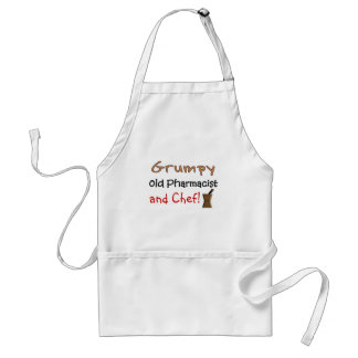 Grumpy Old Pharmacist T-Shirts and Gifts Adult Apron