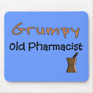 Grumpy Old Pharmacist T-Shirts and Gifts Mouse Pad
