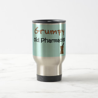 Grumpy Old Pharmacist T-Shirts and Gifts 15 Oz Stainless Steel Travel Mug