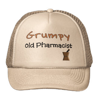 Grumpy Old Pharmacist T-Shirts and Gifts Trucker Hat