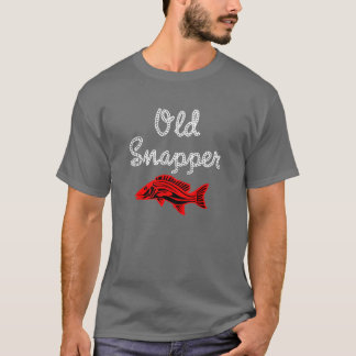 Grumpy Old Red Snapper Fish T-Shirt