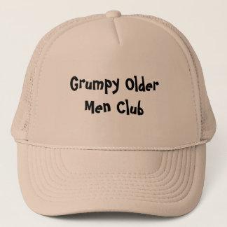 Grumpy Older Men Club Hats Caps Sports Team