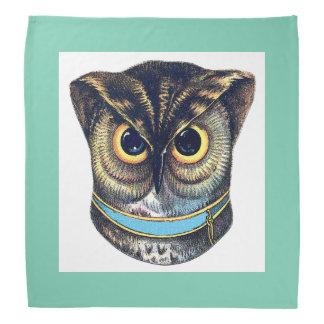 Grumpy Owl Bandana