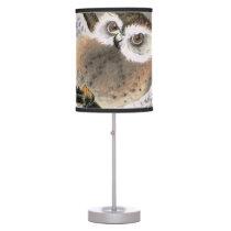 Grumpy Owl Desk Lamp