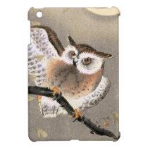 Grumpy Owl iPad Mini Cover