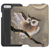 Grumpy Owl iPhone 6/6s Wallet Case