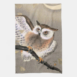 Grumpy Owl Kitchen Towel