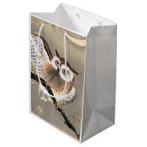 Grumpy Owl Medium Gift Bag