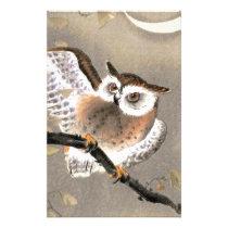 Grumpy Owl Stationery