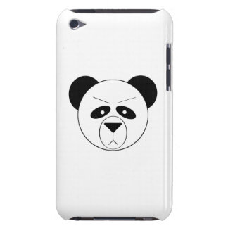 Grumpy Panda Barely There iPod Cases