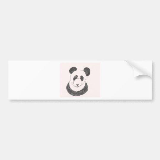 Grumpy Panda Bumper Sticker