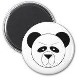 Grumpy Panda Magnets