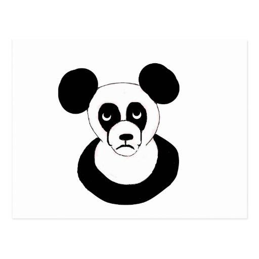 Grumpy Panda Postcards
