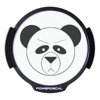 Grumpy Panda Window Decal