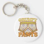 Grumpy Pants Key Chain