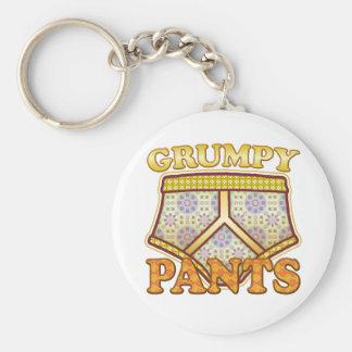 Grumpy Pants Keychain