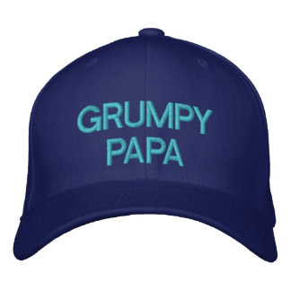 GRUMPY PAPA - Customizable Cap by eZaZZaleMan