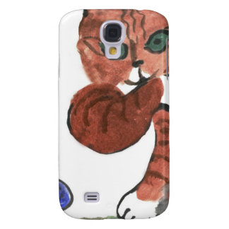 Grumpy Paws Eyes an Etheral Butterfly Samsung Galaxy S4 Covers