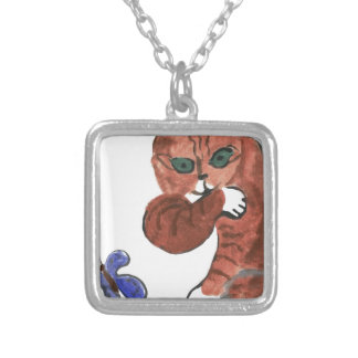 Grumpy Paws Eyes an Etheral Butterfly Necklaces