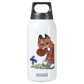 Grumpy Paws Eyes an Etheral Butterfly SIGG Thermo 0.3L Insulated Bottle
